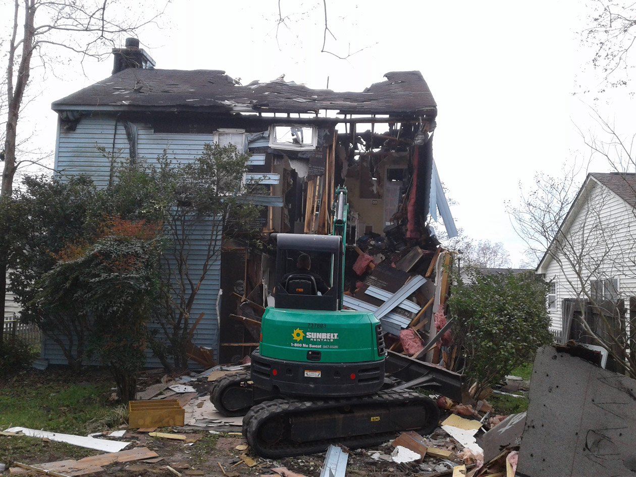 Demolition Services in Charleston, SC